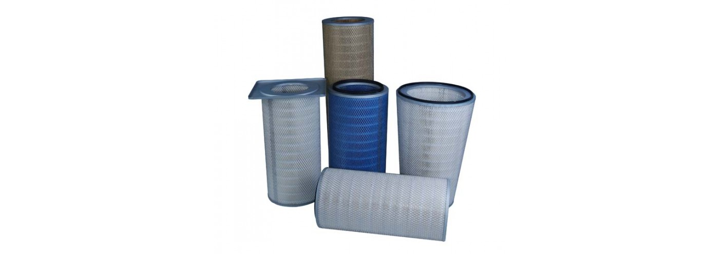 DUST EXTRACTION CARTRIDGE FILTER